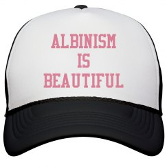 Albinism Is Beautiful- Pink Hat
