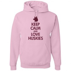 Keep calm love huskies