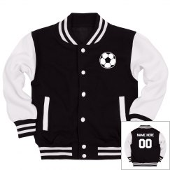 Soccer Youth Custom Varsity Jacket