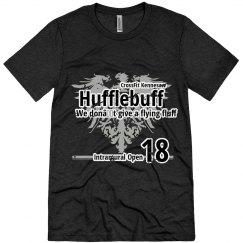 Hufflebuff T Vintage Black