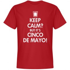 Keep Calm Cinco de Mayo