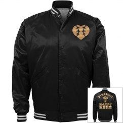 Metallic Golden Baseball Jersey