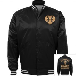 Metallic Golden Baseball Jersey