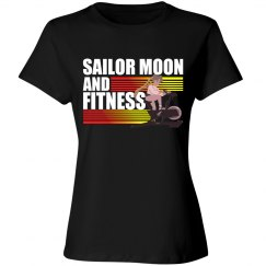 Sailor Moon and FITNESS workout tank