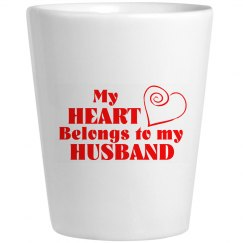 heart belongs to my husband