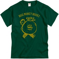 Bigg money Bookz design 2 forest green