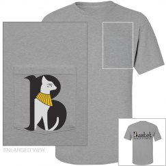 Bastet Men's Logo Pocket Tee
