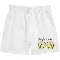 Jingle Balls Boxer Shorts