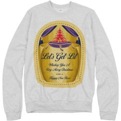 Whiskey Christmas Drinking Sweater