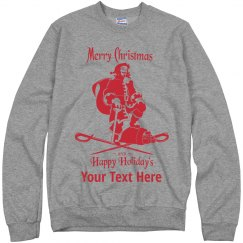 Add your Text Rum Ugly Sweater