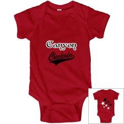 Canyon onesie