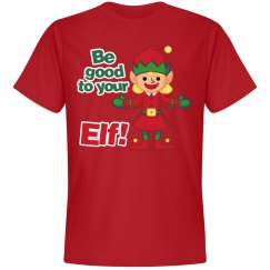 Christmas Be Good to Your Elf
