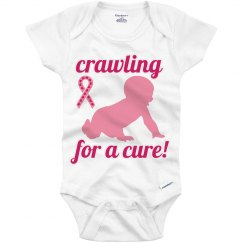 Cancer awareness onesie