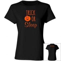 Women's T- Trick or Sleep