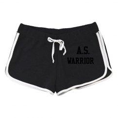 A.S. WARRIOR #KICKINAS SHORTS