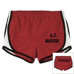 A.S. WARRIOR #KICKINAS SHORTS