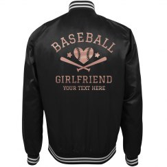 Baseball Metallic Custom Girlfriend