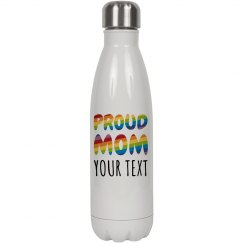 Proud Mom Custom Water Bottle