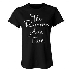 The Rumors Are True