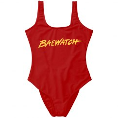 Bae Watch Parody Design