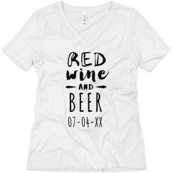 Red Wine and Beer Date