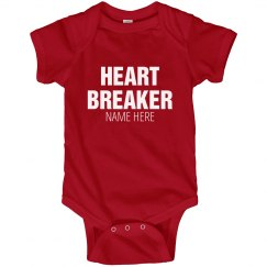 Custom Valentine's Heart Breaker