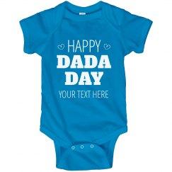 Custom Happy DaDa Day From Baby