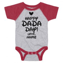 Happy DaDa Day Custom Baby Name