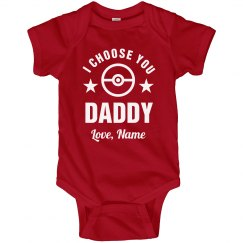 I Choose You, Dad! Custom Name