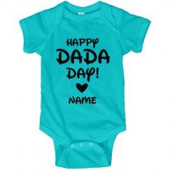 Customizable Happy DaDa Day Baby