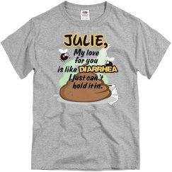 Julie,my love...