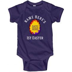 Custom Name's 1st Easter