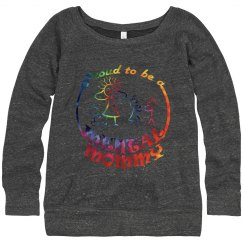 Mental Mommy Wideneck Sweatshirt