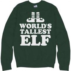 World's Tallest Elf