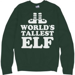 World's Tallest Elf