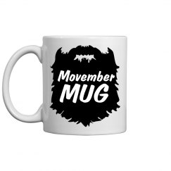 Movember Coffee Mug