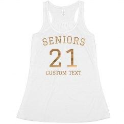 Rose Gold Metallic Seniors 2021