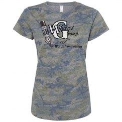 Misses Pink Camo Tee