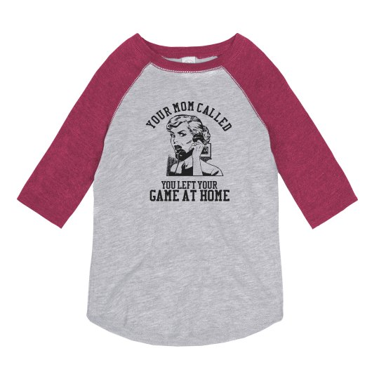 f5aec734 Funny Football Sister Shirts With Custom Backs Youth Vintage 3/4 Sleeve  Raglan T-Shirt: This Mom Means Business!