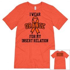 Color World Orange for CRPS - Short Sleeve