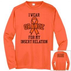 I wear Orange for CRPS - Long Sleeve