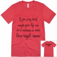 Royal's Prayer 3