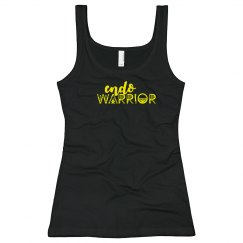 Endo Warrior Endometriosis Awareness Month Fitted Tank
