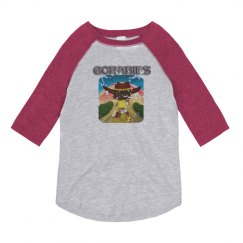 GOBABIES YOUTH BASIC DISTRESS TEE