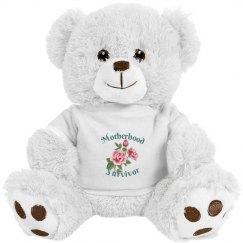 Motherhood Survivor Plush Bear