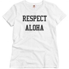 Respect Aloha Hawaii Top