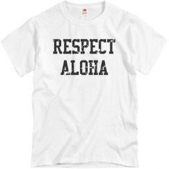 Respect Aloha Hawaii Top