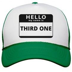 Third Kid Hat