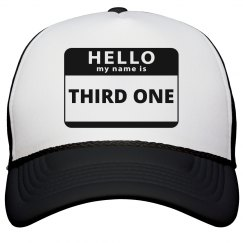 Third Kid Hat