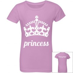 Youth Girl Princess Tee